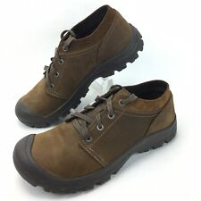 KEEN Grayson Oxford Hiking Shoes Mens Size 10 Brown Nubuck Leather