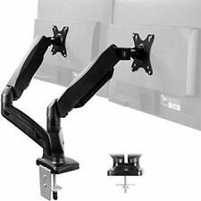 VIVO Dual Arm Monitor Desk Mount Height Adjustable Tilt Swivel Counterbalance...