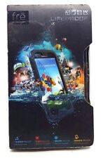 Genuine Lifeproof Fre Waterproof Case Cover For Samsung Galaxy S4 Black