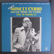 ARNETT COBB:  More Live At Sandy's LP Jazz