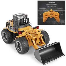 RC 6CH 1/14 LKW Metall Bulldozer Fernbedienung Bau Fahrzeug Spielzeug