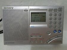 Sony ICF-SW7600GR FM Stereo SW MW LW PLL Synthesized World Band Radio Receiver