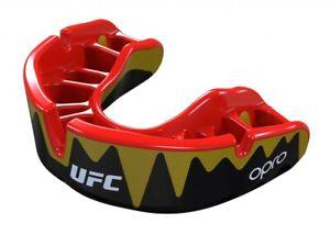 "OPRO ""UFC"" Zahnschutz Platinum Senior Fangz black/gold - Mouthguard - Combat"