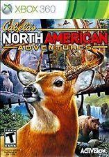 Cabelas North American Adventures XBOX 360! HUNTING, HUNT DEER, BUCK, BEAR, ELK