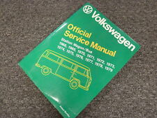 1976 1977 1978 1979 Volkswagen VW Station Wagon Bus Shop Service Repair Manual