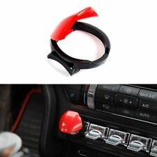Red Engine Start/Stop Push Button Control Switch Cover For 2015-up Ford Mustang