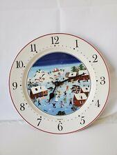 Villeroy & Boch NAIF CHRISTMAS Clock Plate