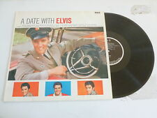 ELVIS PRESLEY - A Date With Elvis - Late 1980s UK 11-track Vinyl LP