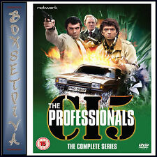 THE PROFESSIONALS - THE COMPLETE SERIES 1 2 3 4 & 5  *BRAND NEW DVD BOXSET***