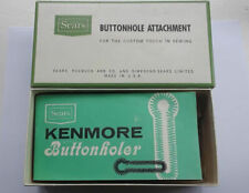 Vintage Sears Kenmore Buttonhole Attachment #6774 Original Box & Booklet