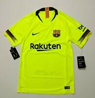 NWT Nike Vaporknit FC Barcelona 2018 Away MATCH Jersey Men's XL MSRP $165