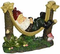 Summerfield Terrace 39264 Slumbering Gnome Statue, Multicolor