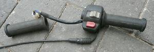 Original Rex 50 2Takt Rex  S.T.M. Rexy Gasgriff mit Schalter für Starter / Licht
