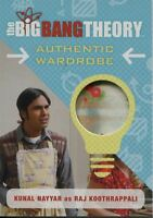Big Bang Theory Seasons 6 & 7 Wardrobe Card M08 Kunal Nayyar as Raj