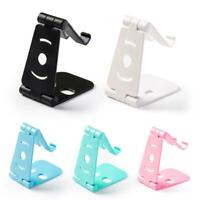 Double-Folded Phone Stand Desk Holder Adjustable Support Bracket for iPhone XS