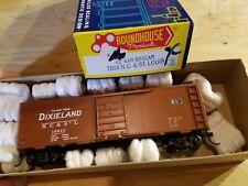 HO Scale TRAIN ROUNDHOUSE DIXIELAND NC&STL AAR BOX CAR KADEES