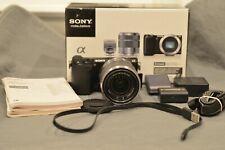 Sony Alpha NEX-5R 16.1MP Digital Camera - Black (Kit w/ E OSS 18-55mm Lens)...