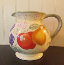 Gibson Design 96 oz pitcher retired Fruit Grove (Pears, Apples) Home label china