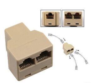 Doubleur Splitter Coupleur Ethernet RJ45 LIVRAISON INCLUSE