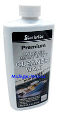 Star brite Premium One-Step Heavy Duty Cleaner Wax with PTEF - 16 oz. - 89616