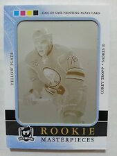 2011-12 11-12 The Cup Corey Tropp Yellow Printing Plate 1/1 1 of 1 RARE!!!!!