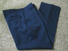 Vintage Men'S All Seasons Comfort Action Pants Slacks Navy Blue W 42 X L 32 Usa