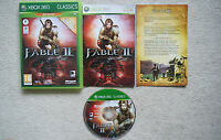 Fable 2 Classics ( Game of the Year Edition) Xbox 360 -1st Class FREE UK POSTAGE