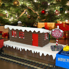 More details for hornby compatible north pole station for under tree with santa express xmas