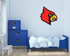 Louisville Cardinals NCAA Football Wall Decal Vinyl Sticker For Room Home Car