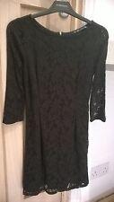 Zara Polyester 3/4 Sleeve Mini Dresses for Women