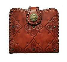 100% Authentic Anna Sui Metal Butterfly Embossed Leather Wallet