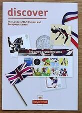 Londres Jeux Olympiques et paralympiques de 2012-Royal Mail Memorabilia catalogue