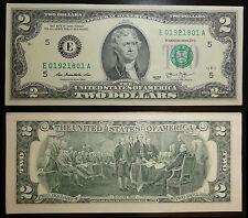 2 billets de Richmond, Virginie (E) 2013 UNC. – Two Dollar USA UNC.