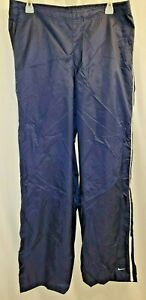 Women's Nike F1TWA Nylon Wind Breaker Workout Exercise Pants Size Large 12-14