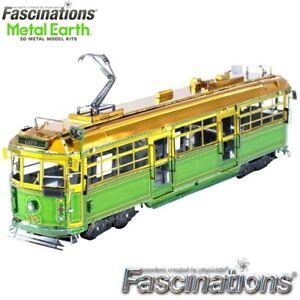 Metal Earth Melbourne W-Class Tram Laser Cut DIY 3D Model Building Kit Puzzle