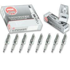 8 pcs NGK V-Power Spark Plugs for 2001-2017 GMC Sierra 2500 HD 6.0L V8 - fw
