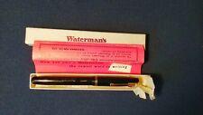 Vintage 1940s WATERMAN'S Ideal Fountain Pen 14K gold nib fully working