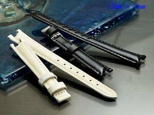 Genuine leather strap band bracelet 12mm (FITS) TISSOT Flamingo T094