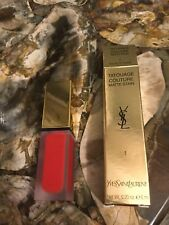 Noel ROUGE A LEVRE YSL Tatouage Couture  NEUF