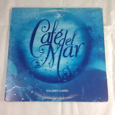 Cafe Del Mar Ibiza Volumen Cuatro Vol 4 LP vinyl 1997 Mercury Jose Padilla