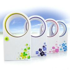 Sommer Rotorloser Ventilator Lüfter Klimagerät Tischventilator Mini Klimaanlage