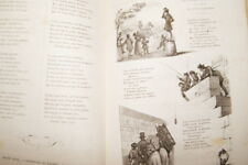 CHANTS ET CHANSONS POPULAIRES DE LA FRANCE T2 1859 RELIURE PARTITION AIRS NOTES