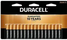 DURACELL AAA 16 PACK * COPPER TOP * ALKALINE BATTERIES (1.5 VOLT)  EXP MAR/2029