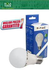 LAMPADA LAMPADINA LED E27 V-TAC 10W=60W LUCE 2700K-6500K
