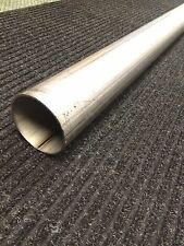 "3"" Stainless Steel Exhaust Straight Tubing - 3"" Outside Diameter - 5' Length"