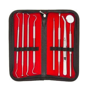8er  Dental Set Instrument Zahnreinigung Zahnreinigungsset