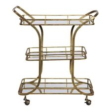 Uttermost Stassi Gold Serving Cart - 24876