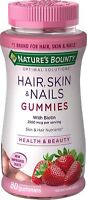 Nature's Bounty Optimal Solutions Hair, Skin, Nails, 80 Gummies