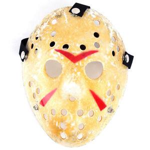Adult Jason Horror Freddy Scary Hockey Mask Friday Halloween Costume Accessory