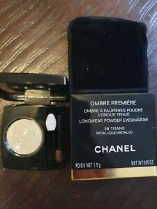 Chanel Ombre PREMIÈRE Longwear Powder Eyeshadow #38 TITANE